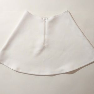 White Flare American Apparel Skirt